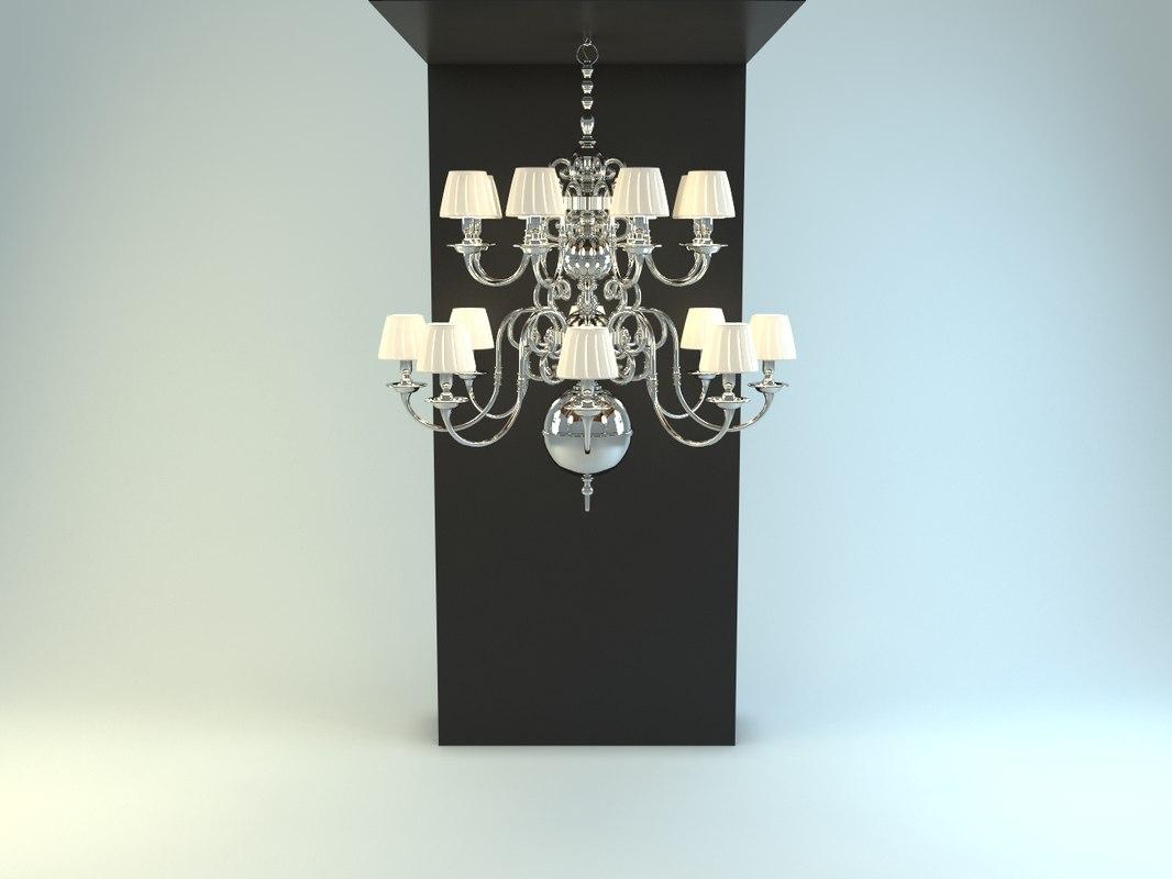 3dsmax charrell eichholtz chandelier