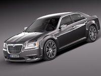 3d lancia thema 2013 sedan model