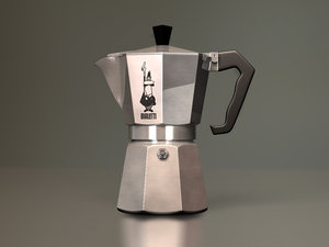 3d bialetti moka espresso