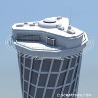 skyscraper structure 3d max