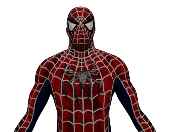 3d model spiderman spider man