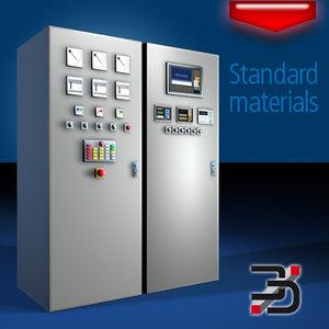 3d model electric power