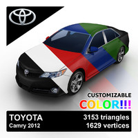 Toyota Camry 2012 Custom Colors