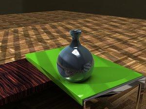 vase decoration 3d dxf