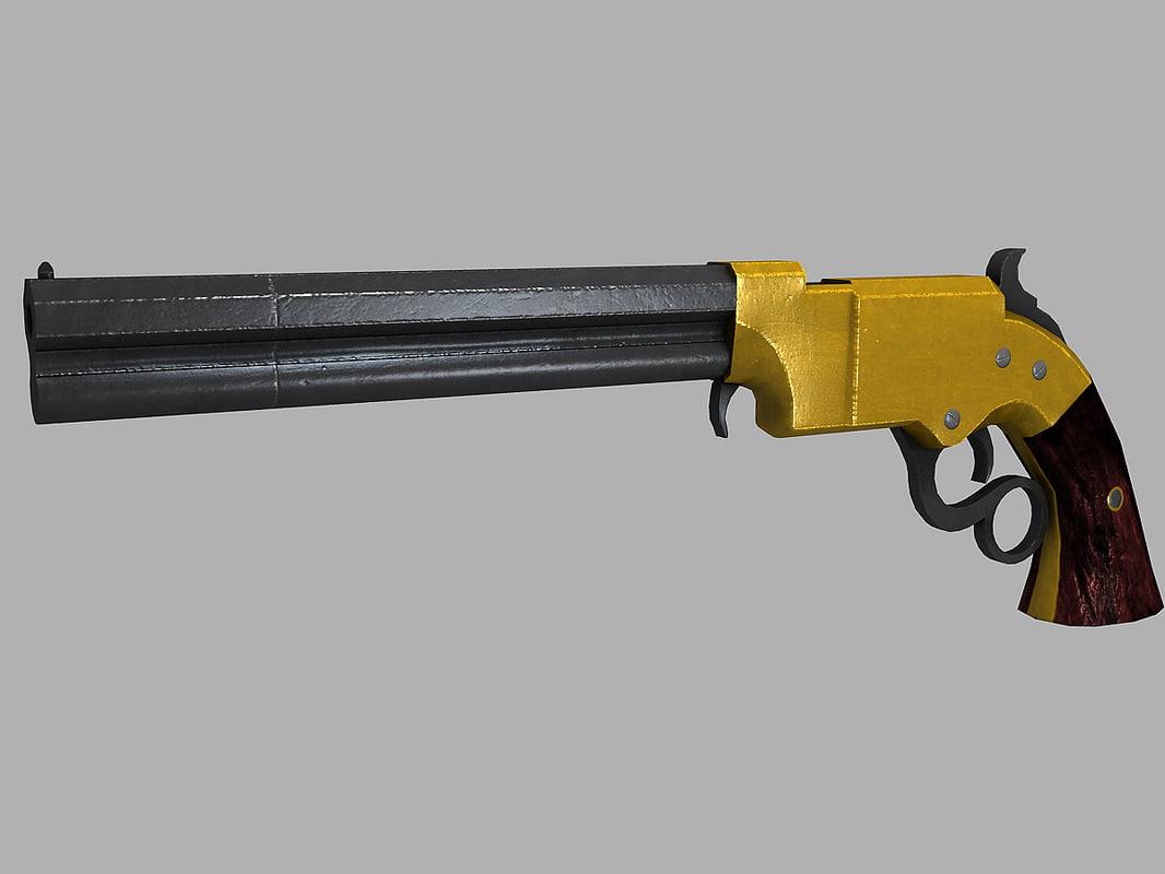 volcanic repeating pistol obj