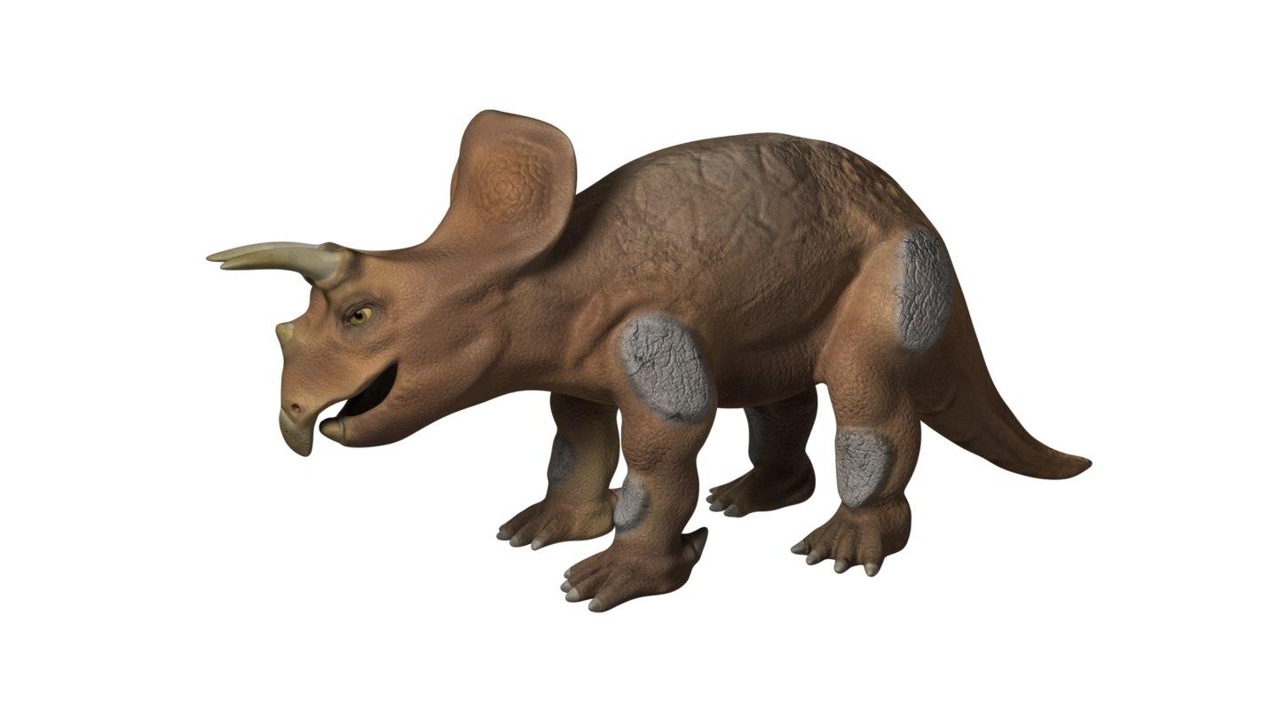 obj dinosaur