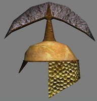 3d helmet head