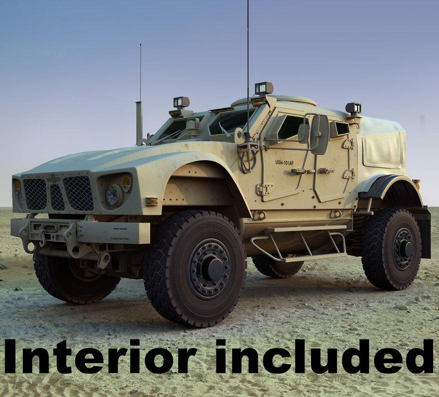 maya m-atv military vehicle