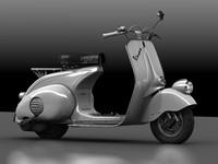 3dsmax vespa 1946