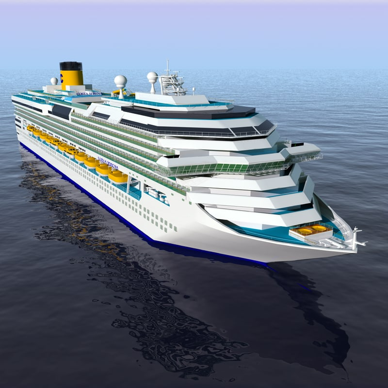 3d costa serena cruise