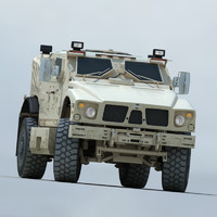 US Army Oshkosh M-ATV Mine Resistant Ambush Protected Vehicle