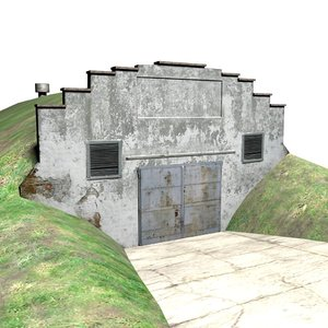 bunker 3d max