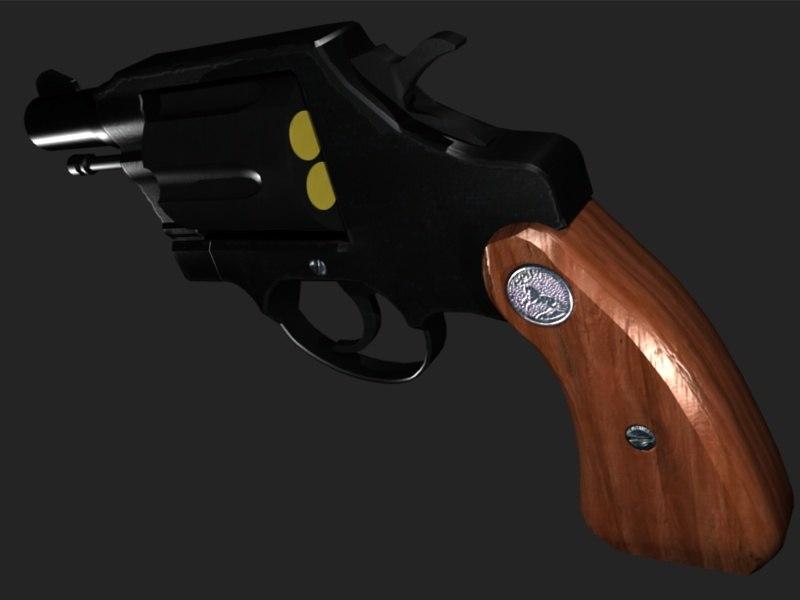 3d 38 caliber revolver