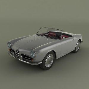 alfa romeo giulietta 1959 3ds