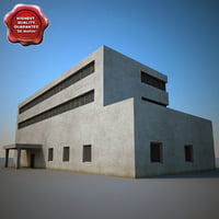 industrial building v5 obj