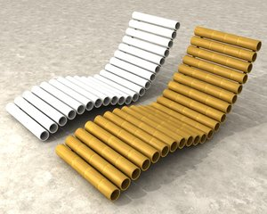 chaise lounge 3d max