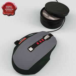 3d model microsoft sidewinder mouse