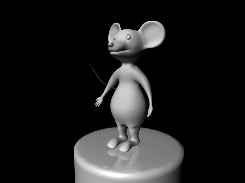 3d animation mouse model