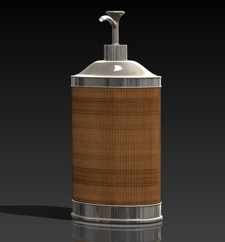 3d model kitchen soap dispenser
