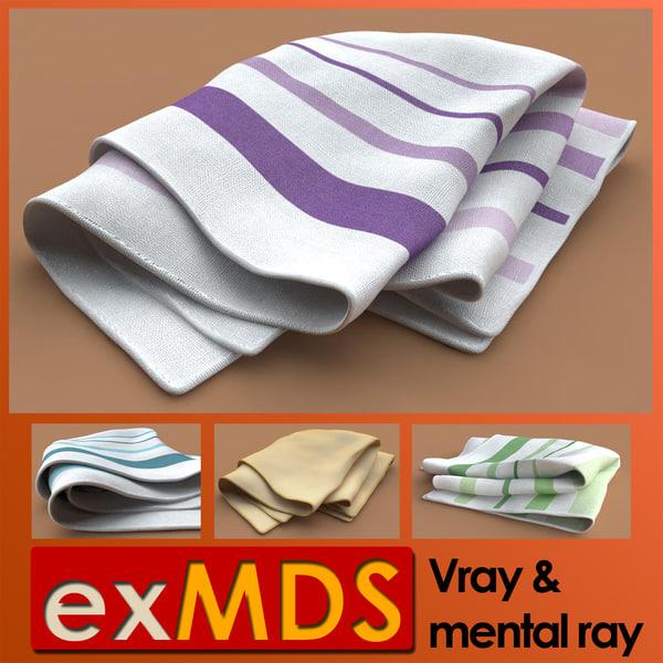 3d model of tea cloth