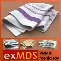 Tea Cloth / Towel (vray & mr)