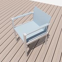 maya exterior chair