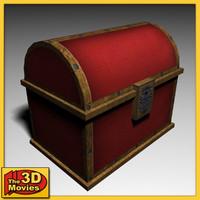 treasure chest 3d 3ds