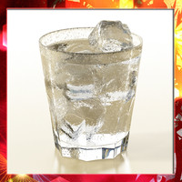 photorealistic glass ice 3d obj