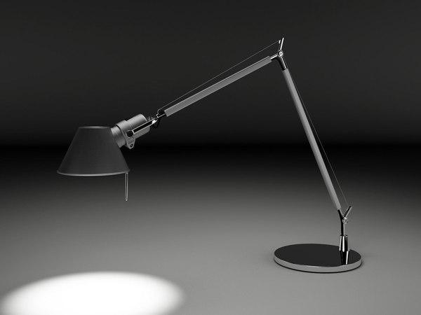 lamp task lighting 3d max