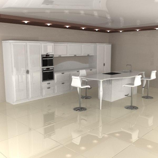 kitchen 3d x