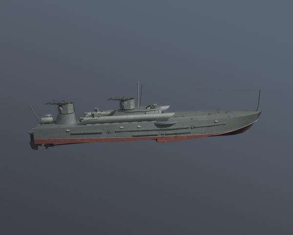 fbx komsomolets torpedo boat