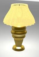 brass lamp 3d max