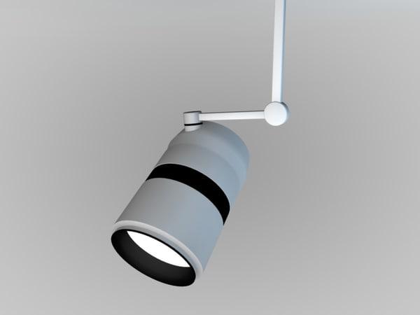 spot light 3d c4d