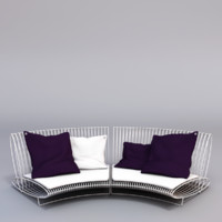3ds outdoor sofa bonacina
