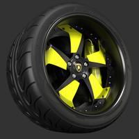 3d axis wheel