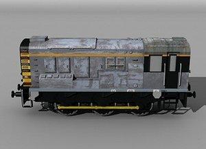 diesel shunter 3d 3ds