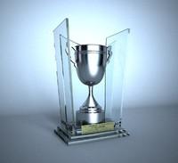 3d model trophy