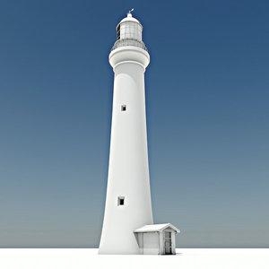 split point lighthouse 3ds