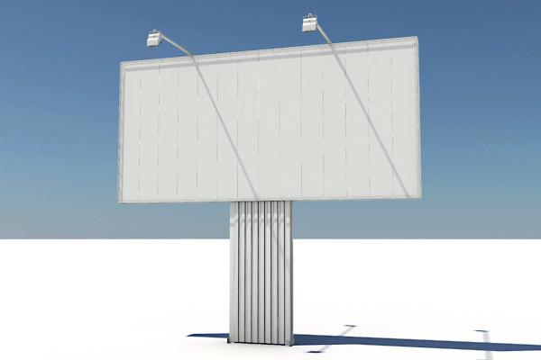 3d billboard highway