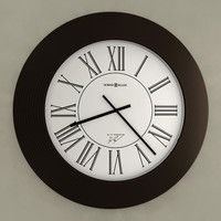 3d model analog wall clock