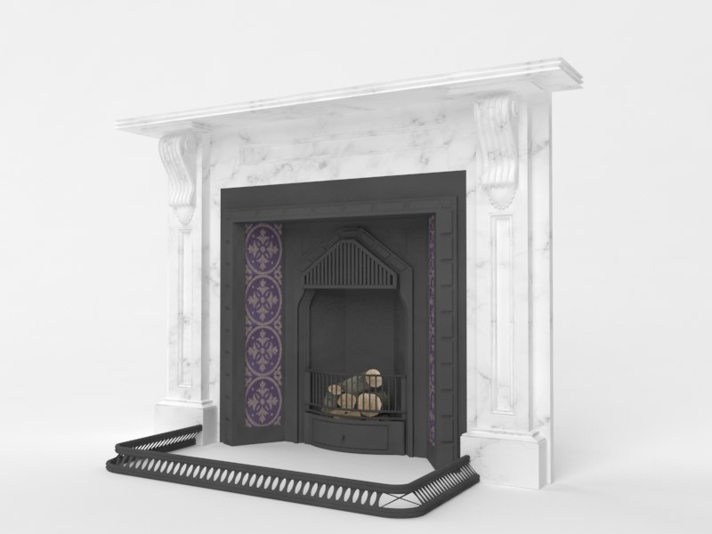 victorian fireplace max