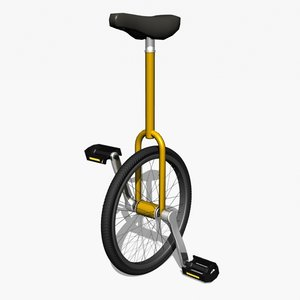 3ds unicycle