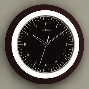 analog wall clock max