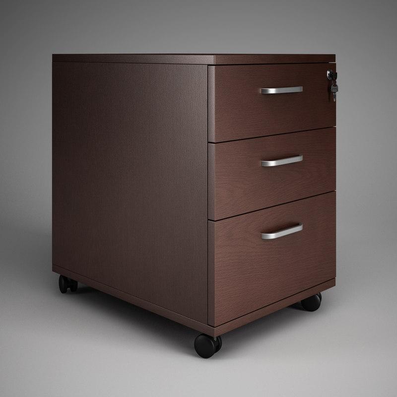 office cabinet 15 3d model