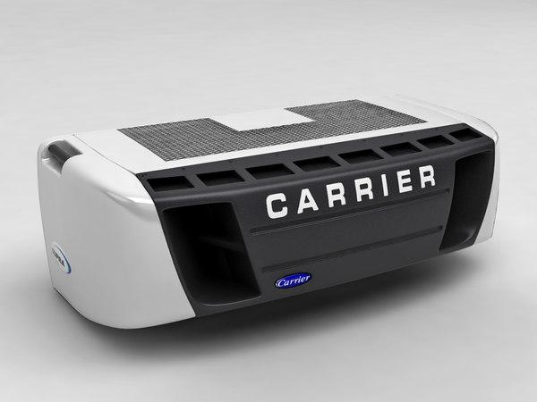 refrigerator car carrier 3d model