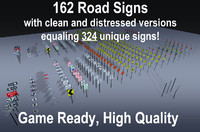 162 Game Ready Signs