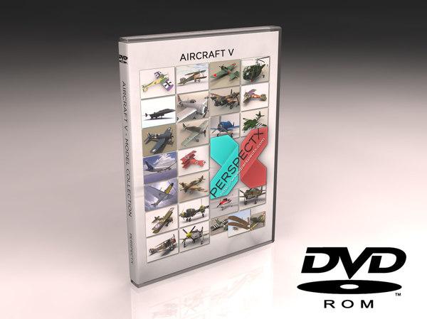 3ds max aircraft dvd v
