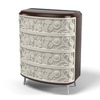 3d model elledue chest drawers