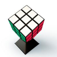 cube puzzle 3d model