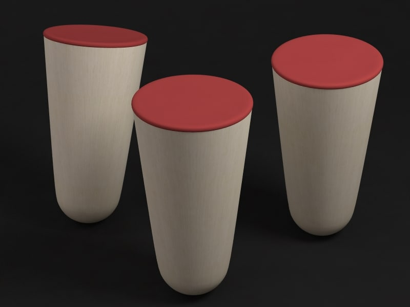 3ds max balance stool-by thorsten franck